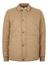 Topman Stone Quilted Coach Jacket - Small *Brand New & Sealed*
