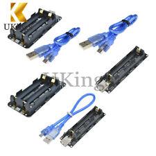 ESP32 ESP-32 Raspberry Pi Wemos 18650 Battery Shield V3 V8 USB Cable For Arduino
