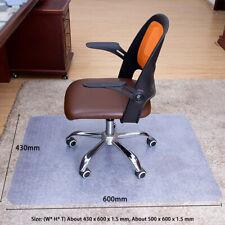 50 x 60cm Clear Chair Mat Home Office Computer Desk Floor Carpet PVC Protector
