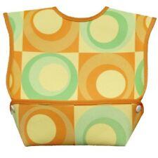 Dex Baby Dura Bib Geo Big Mouth - Large 6-24 Months (Orange)