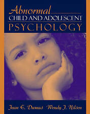 Abnormal Child and Adolescent Psychology-ExLibrary