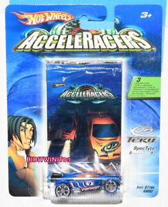 HOT WHEELS 2005 ACCELERACERS TEKU SPEC TYTE 8 OF 9 W+
