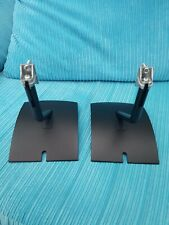 Bose UTS-20 Series II Universal Table Stands Black x 2