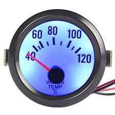 "Black Car Motor Universal Pointer 2"" 52mm Water Temp Temperature Gauge Dials"