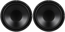 """NEW (2) 12"""" SVC Subwoofer Bass Speakers. 4 ohm.Sub.woofers.Replacement Pair.240w"""