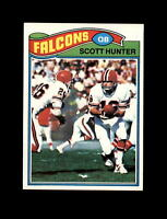 1977 Topps Football #157 Scott Hunter (Falcons) NM-MT