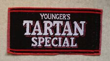 Younger's Tartan Special Beer Bar Towel Pub Home Bar Man Cave Unused