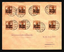Poland 1917 Occupation Cover to Germany - Z17102