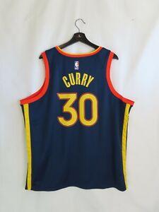 NWT Men's Stephen Curry GS Warriors Nike Swingman NBA Jersey (XL) City Edition