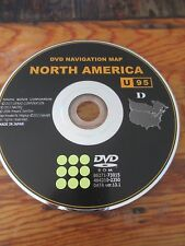 2010 2011 2012 TOYOTA  UPDATED NAVIGATION  DVD  MAP U95 DATA 13.1 FACTORY OEM