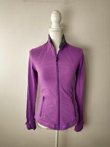 Size 6 Lululemon Define Jacket - Purple Darkest Magenta