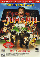 JUMANJI - BRAND NEW & SEALED R4 DVD (ROBIN WILLIAMS, BONNIE HUNT) COLLECTOR'S ED
