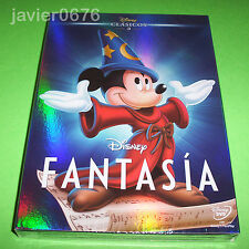 FANTASIA CLASICO DISNEY NUMERO 3 DVD NUEVO Y PRECINTADO SLIPCOVER