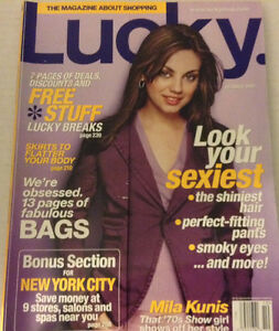 Lucky Magazine Mila Kunis  October 2003 080917nonrh