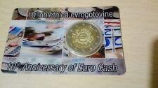 coincard 2012 pp Slovenia 10° anniversario euro