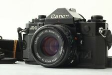【Body NEAR MINT】Canon A-1 35mm Film Camera & NFD 50mm f/1.8 Lens From JAPAN #004