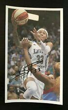 SEIMONE AUGUSTUS WNBA Minnesota Lynx Autographed Signed Custom 3x5 Index Card 2