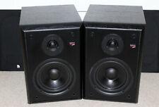 1 Paar Lautsprecher Audio Pro Stage 4 Monitor Hifi Boxen Schwarz Bassreflex made