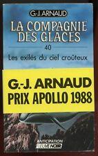 G.J ARNAUD: COMPAGNIE DES GLACES 40. FLEUVE NOIR. 1988.