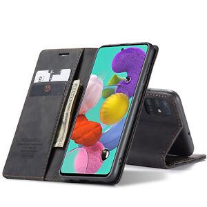 Hülle für Samsung Galaxy A52 A72 A12 Magnet Flip Case Schutz Cover Handy Tasche