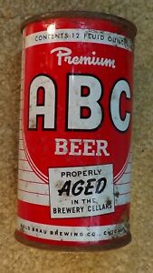 *OLD* Premium ABC Flat Top Beer can