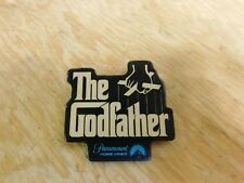 Vintage 1980 Paramount Home Video Promo Pinback button The Godfather