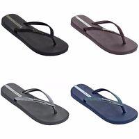 Ipanema Sparkle Womens Flip Flops Burgundy, Black, Grey and Navy