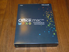 Microsoft Office Mac 2011 Home & Business niederländische Vollversion dutch
