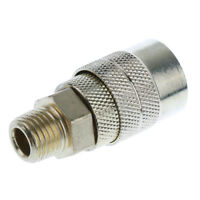 1/4 Pneumatic Fittings Tube Connector Brass Coupling Adapter Thread Coupler