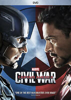 Captain America: Civil War [New DVD] Ac-3/Dolby Digital, Dolby, Dubbed, Subtit