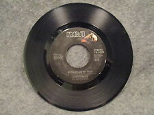 """45 RPM 7"""" Record Eurythmics Here Comes That Sinking Feeling Would I Lie PB-14078"""