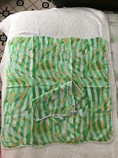 D. Porthault pair of shams new wavy hems rare print