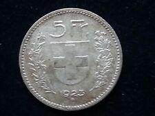 5 Schweizer Franken Silber 1923 B   **SILBER**RAR**