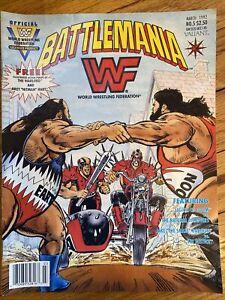 WWF Battlemania No 5 March 1992 Valiant Illustrated Comics Wrestling