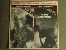 """WILLIE HUTCH / EDDIE KENDRICKS - SHAKE IT / GOIN UP IN SMOKE 12"""" 1976 MOTOWN NM-"""