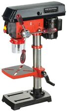 General International Drill Press 10 Inch Variable Speed Laser System LED Light