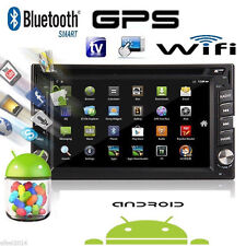Android 6.0 Double 2 Din Car Stereo GPS DVD Player 6.2 Bluetooth Radio 3G WiFi