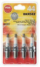 44 NGK BKR5EZ 4 Spark Plugs-Citroen Fiat Peugeot Renault Freepost UK
