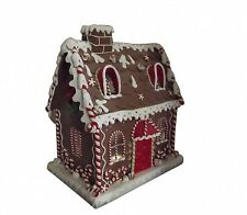 Gisela Graham XL luz casa de pan de jengibre-Grande Decoración de Navidad
