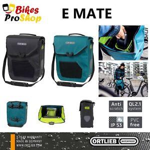 ORTLIEB E Mate (Single) - E-Bike Bicycle Pannier Bag WATERPROOF GERMANY 2021