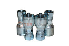 "4PK 1/4"" Female ORS Seal Face Hydraulic Hose Fitting x #4 Hose E205-4-4"
