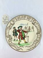 Royal Doulton Diversions of Uncle Toby Games Archery Plate made - March 1921