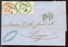ÖSTERREICH 1864 19+19+28 schöne MIF nach LUGO FERCHENBAUER 1100€(E7496b