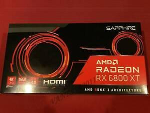 SAPPHIRE Radeon RX 6800 XT 16GB GAMING Graphics Card DirectX 12