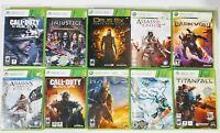Xbox 360 games lot