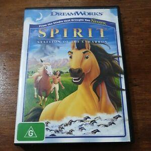 Spirit Stallion of the Cimarron DVD R4 Like New! FREE POST
