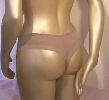 TRIUMPH Dessous String Tanga Soft&Nude cafelatte Gr 36 Swarovski Elements Neu