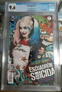 Harley Quinn #11 MARGOT ROBBIE PHOTO VARIANT CGC 9.6 White Pages MEXICAN EDITION