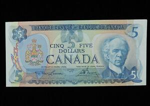1979 $5 Dollar Bank of Canada Banknote 30070352010 Lawson Bouey UNC* Grade