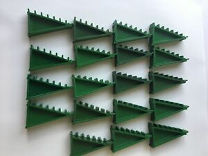 Scalextric Triangle Green Banked Track supports, Qty 19
